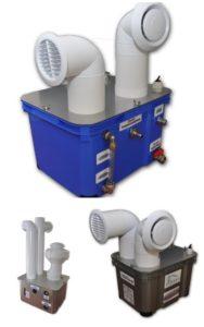 Kompaktowe nawilżacze powietrza / generatory aerozoli Turbo