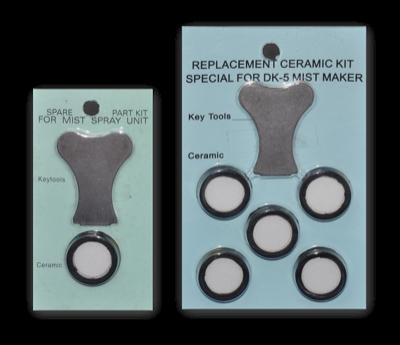 Ceramiczne membrany piezoelektryczne 16mm, 20mm 1.6-1.7MHz (standardowe)