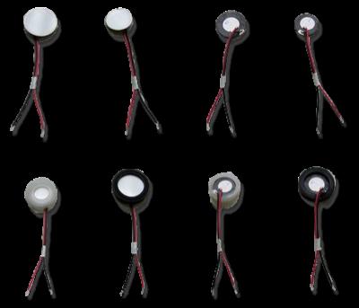 Przetworniki piezoelektryczne różne