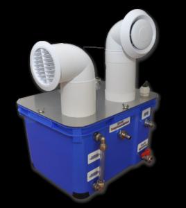 Uniwersalny nawilżacz powietrza Turbo