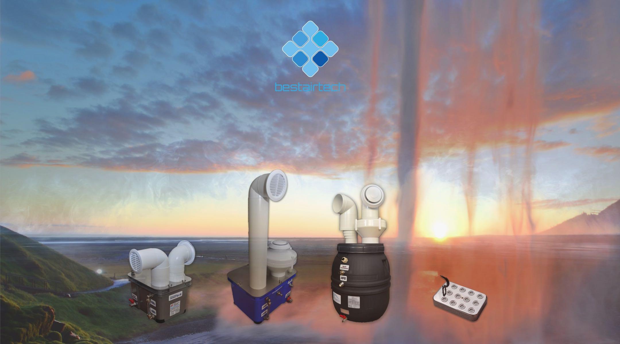 Przemysłowe nawilżacze powietrza