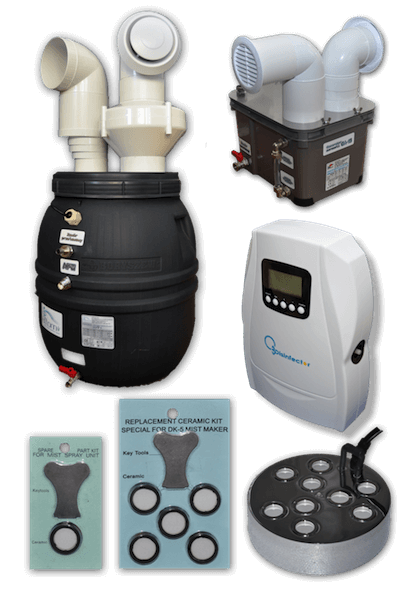 nawilzacz powietrza ozonator generator membrany piezoelektryczne