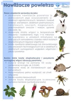 Nawilżanie hodowli ślimaków